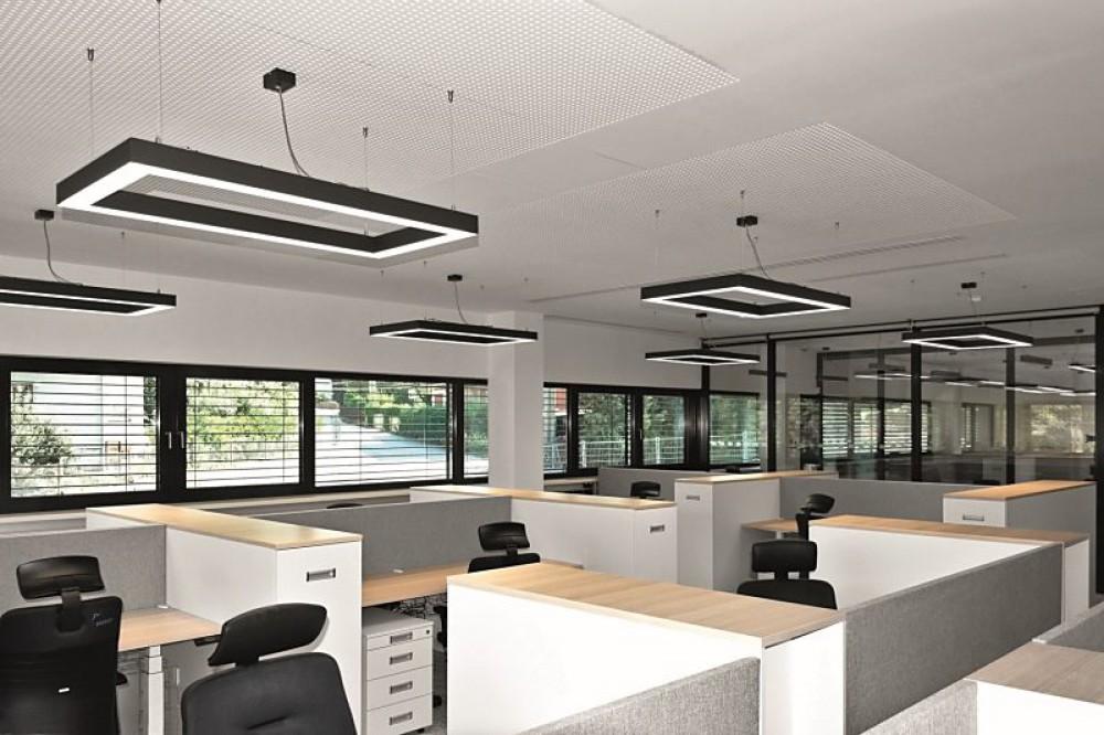 FARINA, flexibele kantoorverlichting