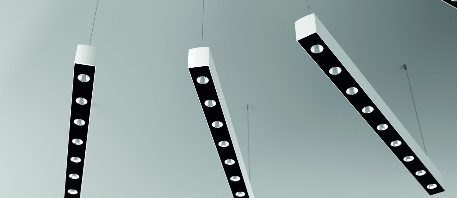GAUDI cup, led luminaire linear