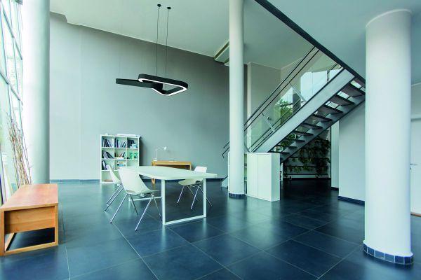BLORE 80 - grote ronde lampen voor rond trappenhuis