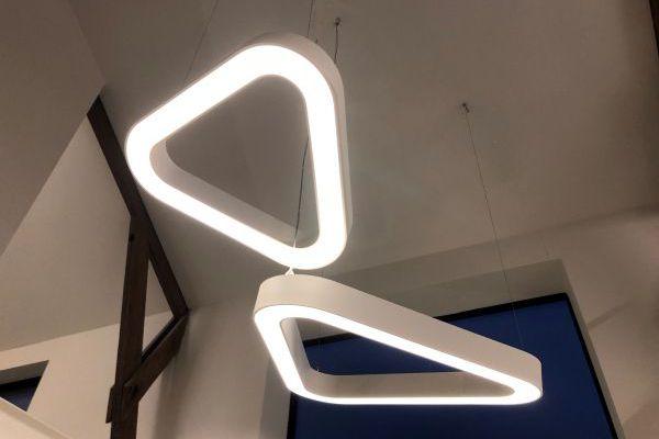 Stakelogic - BLORE ronde armaturen in kantoor