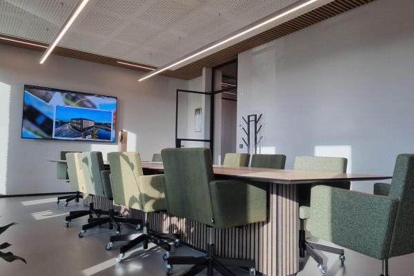 Provinciehuis Maastricht - GIGI ronde inbouwarmaturen in de gangen
