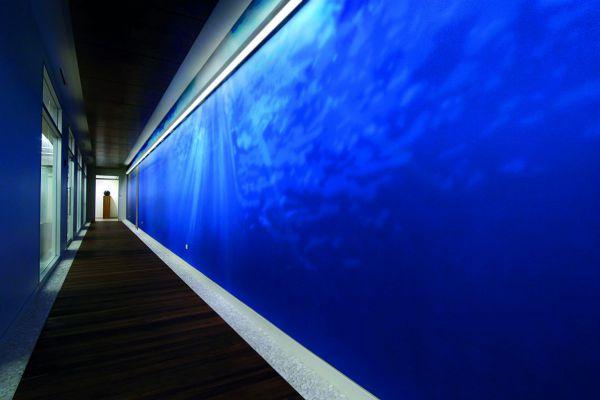 Appartementencomplex Haarlemmerweg Amsterdam  GIGI 350mm/450mm half-inbouw armatuur rond wit