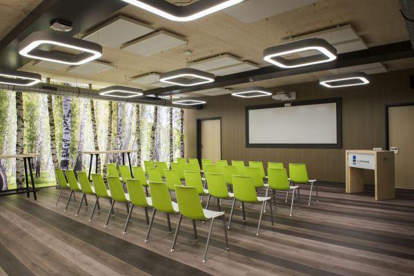 MASON grote driehoek verlichting als entree verlichting in vide